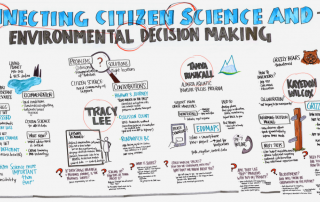 Industry Experts in Citizen Science graphic recording